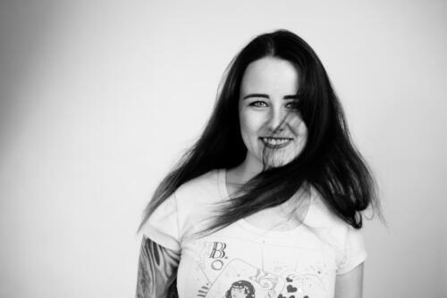 Portrét Aleny objektivem fotografa Tomáše Raura